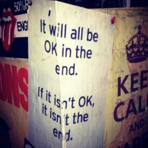it will all be ok